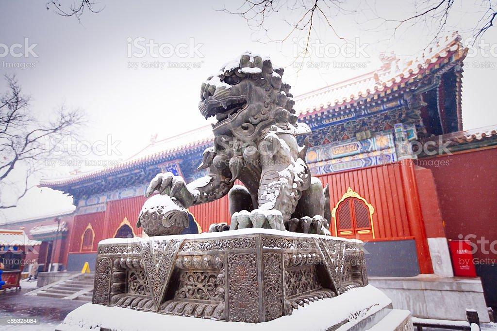 Lama-Tempel (Yonghegong), Peking – Foto