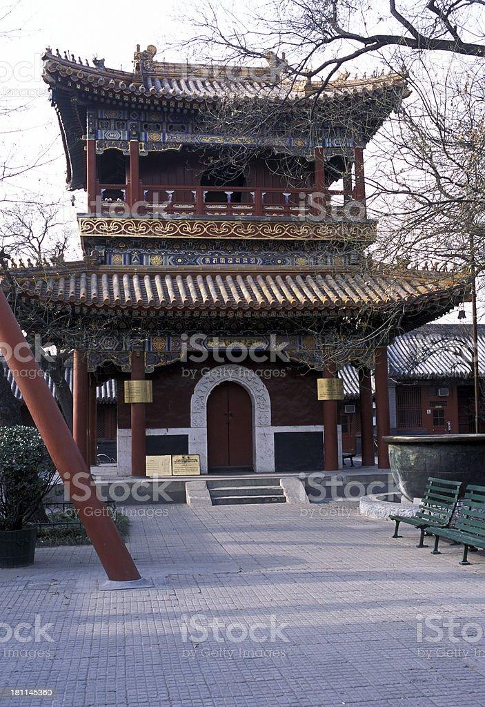 Lama Temple royalty-free stock photo