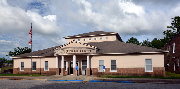 Lamar County Judicial Center Stock Photo - Download Image ...