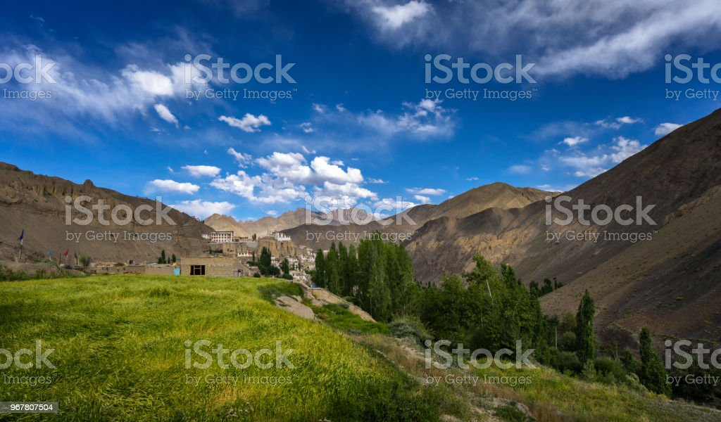 lamayuru  Ladakh landcsape stock photo