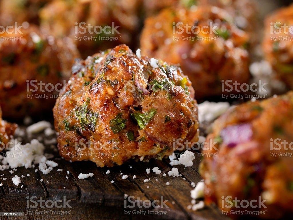 100% Lamb -Greek Meatballs – Foto