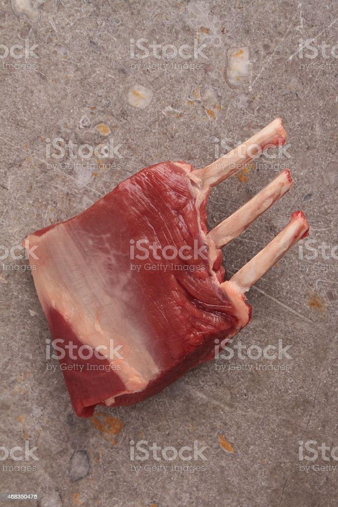 lamb rib cutlet royalty-free stock photo