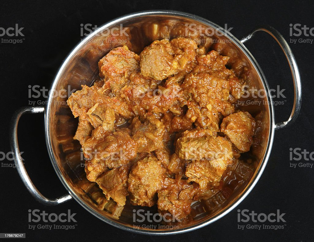 Lamb Rogan Josh Indian Curry stock photo