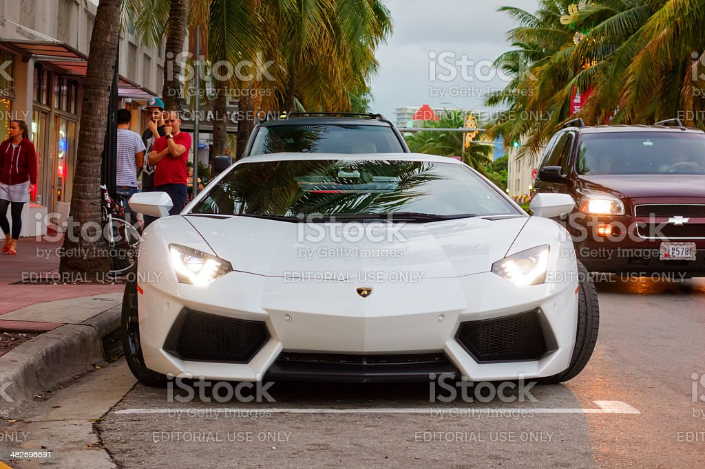 Lamborghini Aventador LP 700-4 stock photo