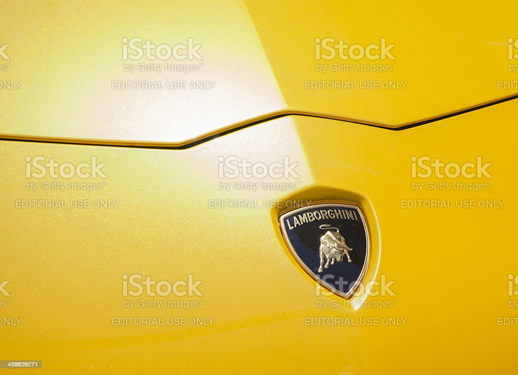 Lamborghini Aventador stock photo
