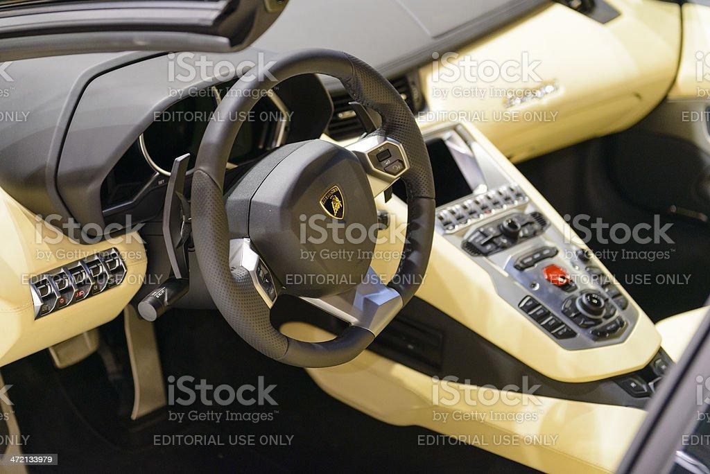 Lamborghini Aventador Roadster Innen Stock-Fotografie und mehr ...