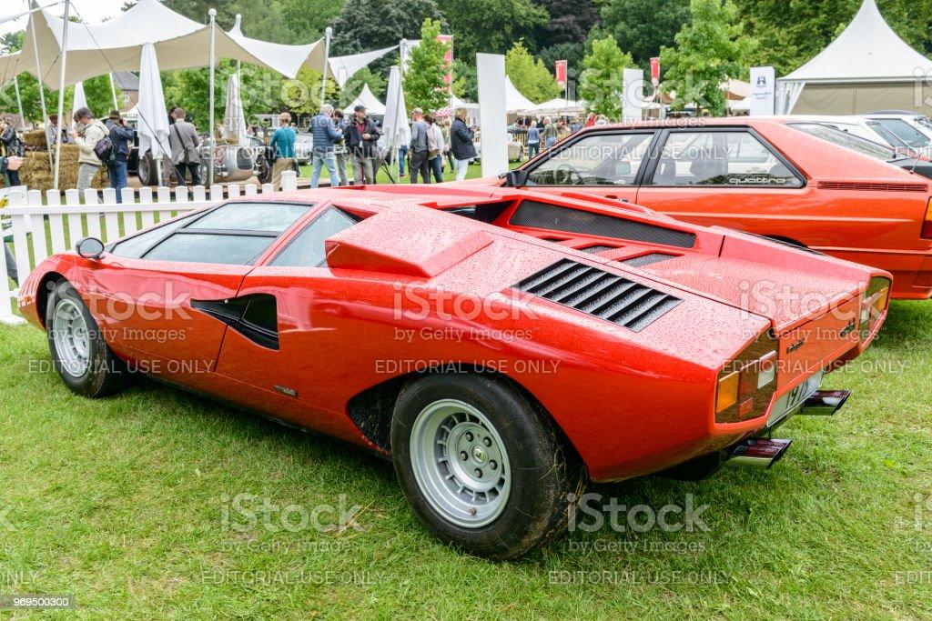 Lamborghini Countach 1970s Italian V12 Supercar Stock Photo More