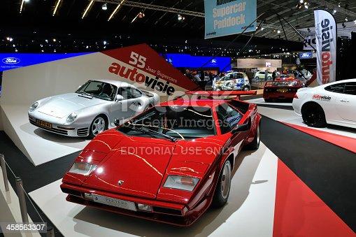 istock Lamborghini Countach and Porsche 959 supercars 458563307