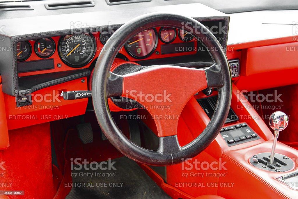 Lamborghini Countach Interior Stock Photo More Pictures Of 1980