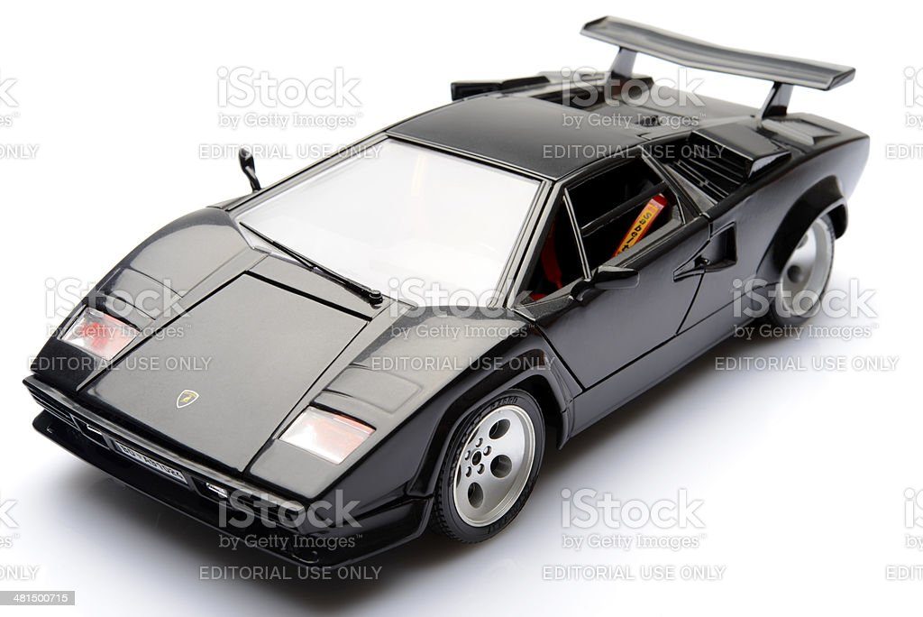 Lamborghini Countach stock photo