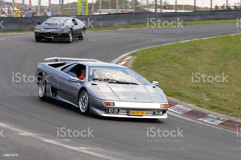 Lamborghini Diablo stock photo
