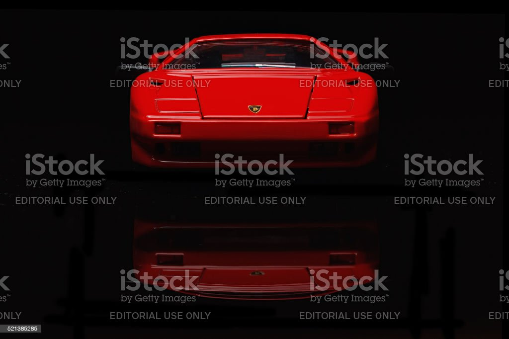 lamborghini Diablo stock photo
