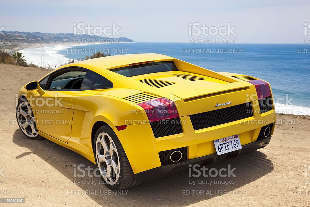 Lamborghini Gallardo stock photo