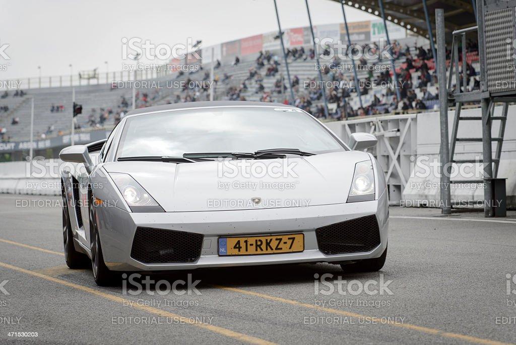 Lamborghini Gallardo Spyder royalty-free stock photo