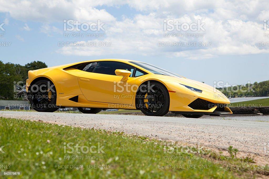 Lamborghini Huracan stock photo
