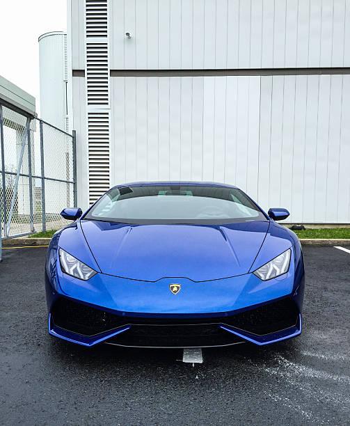 Lamborghini Huracán stock photo