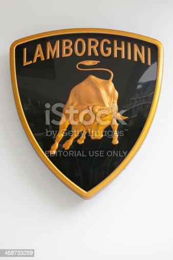 istock Lamborghini logo 458733259