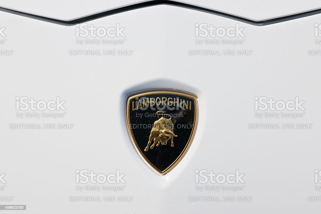 Lamborghini Luxury Sports Car Badge Stock Photo More Pictures Of