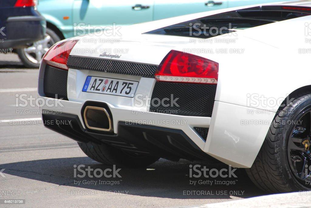 Lamborghini Murcielago On The Street, Iasi County, Romania Royalty Free  Stock Photo