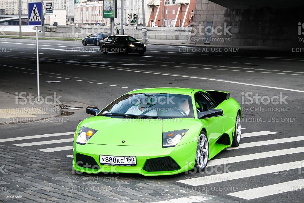 Lamborghini Murcielago stock photo