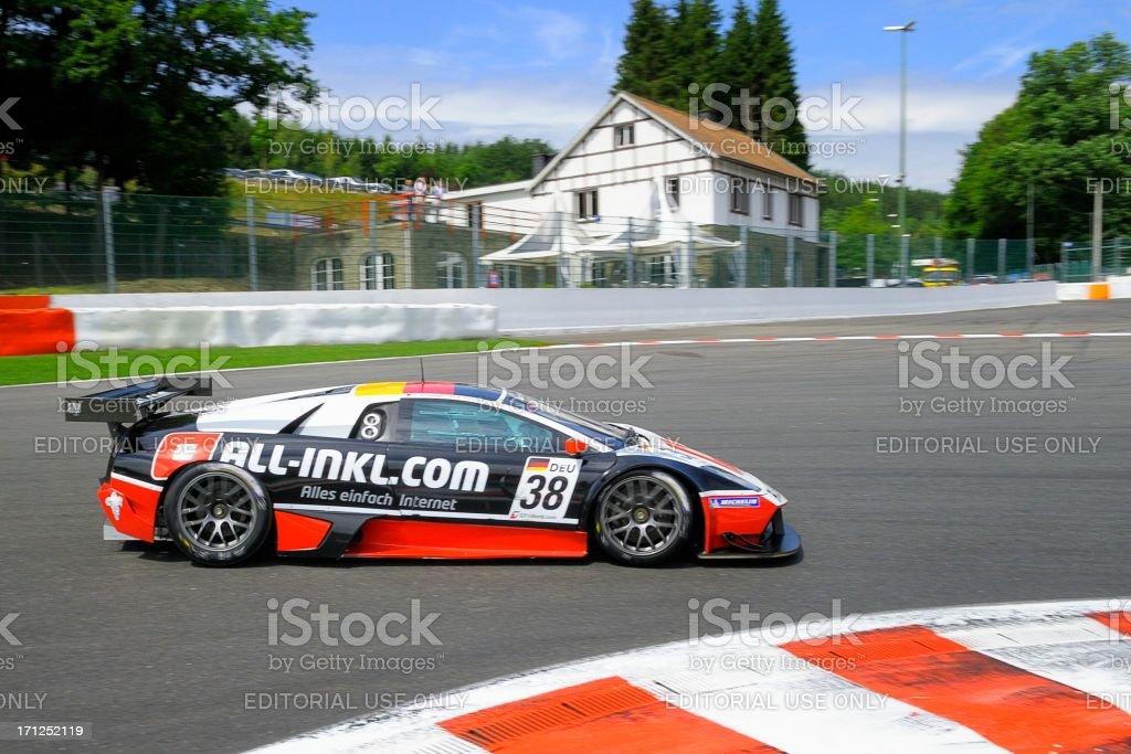 Lamborghini Murcielago race car race car royalty-free stock photo