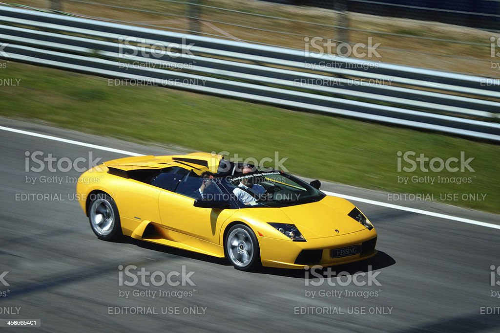 Lamborghini Murcielago Roadster royalty-free stock photo