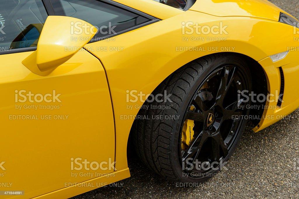 Lamborghini stock photo