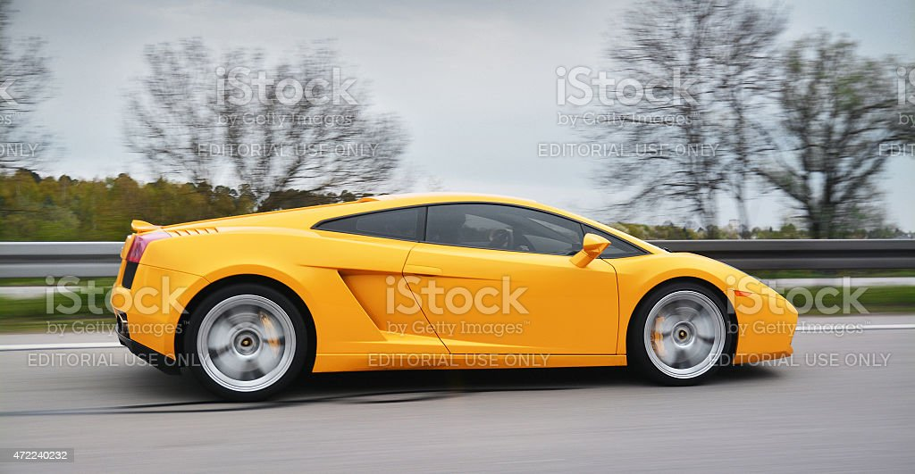 lamborghini stock photo