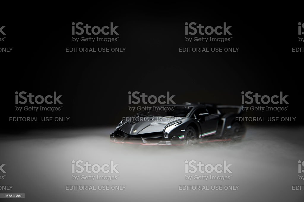 Lamborghini veneno lp750-4 stock photo