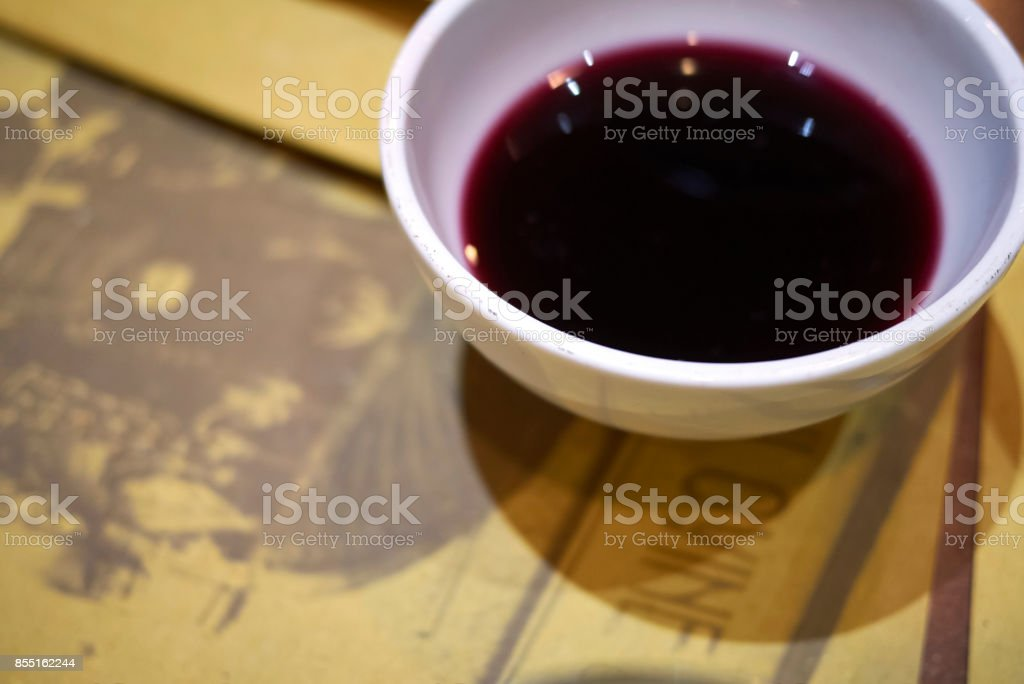 Lambrusco wine stock photo