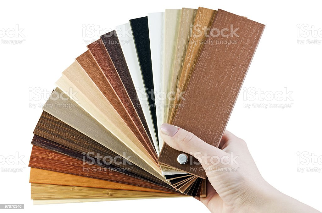 laminate samples royalty-free stock photo