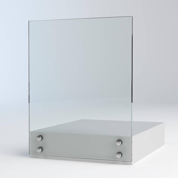 Laminierte gehärtete Glasgeländer Balustrade Panel – Foto