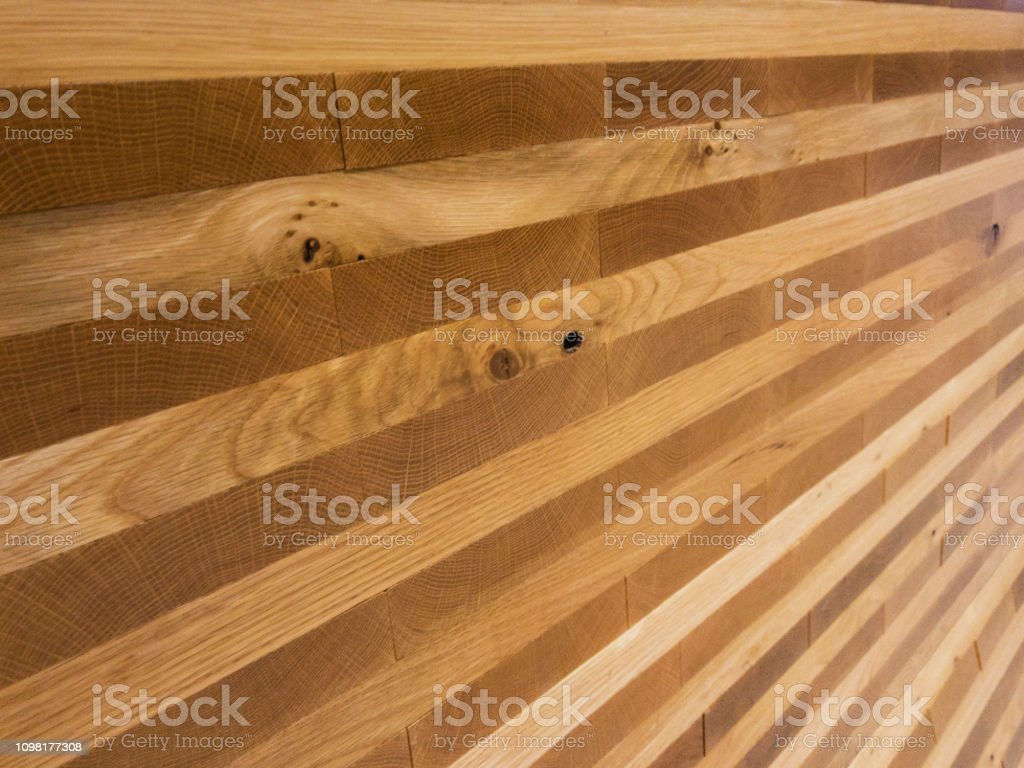 Laminated Wooden Panel Wall Environment Pattern Texture Background stock photo