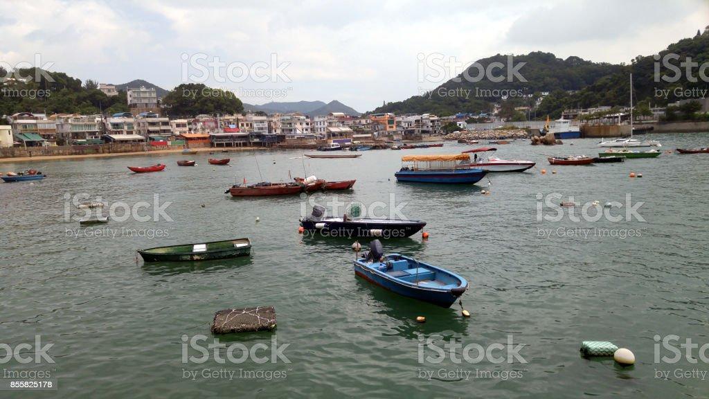 Lamma Island, Hong Kong stock photo