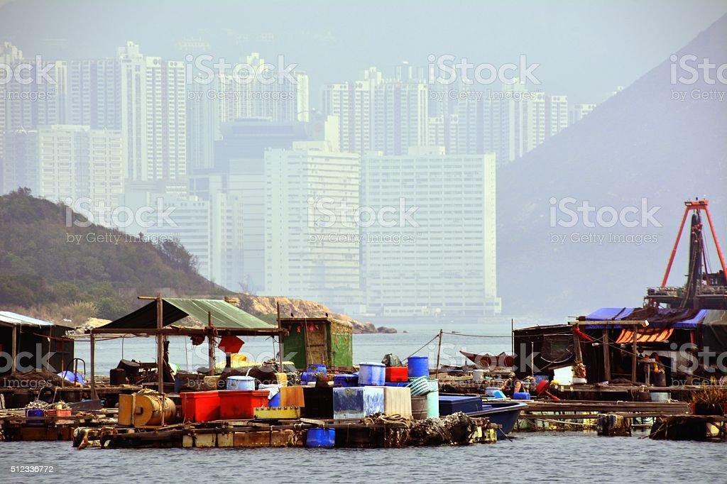 Lamma island, Sok Kwu Wan bay - Hong Kong stock photo