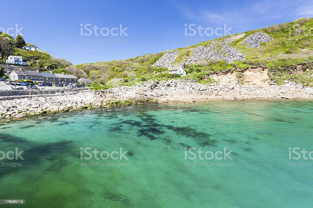 Cornwall Lamorna Cove photo libre de droits