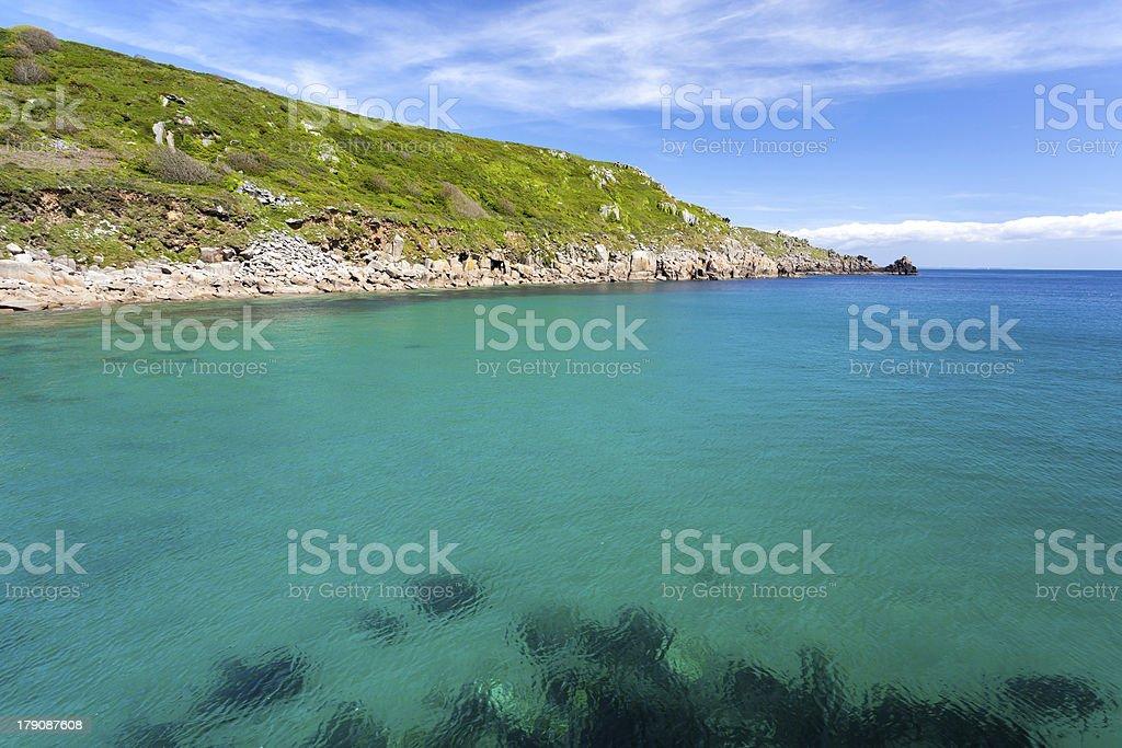Cornwall Lamorna Cove photo libre de droits