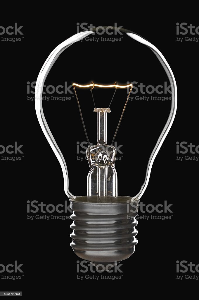 Lamp bulb royalty-free stock photo