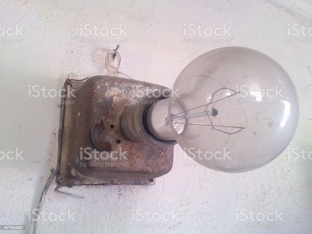 Lamp for lighting. royalty-free stock photo