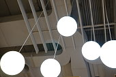 Lighting Equipment, Electric Lamp, Chandelier, Glass - Material, Frosted Glass