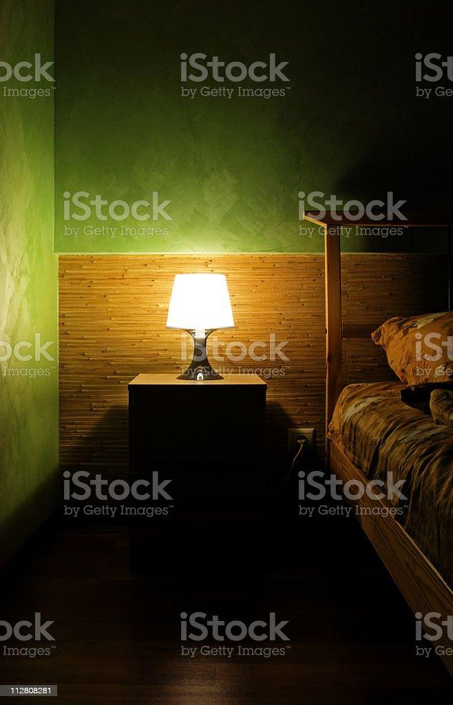 Lampe im Schlafzimmer – Foto