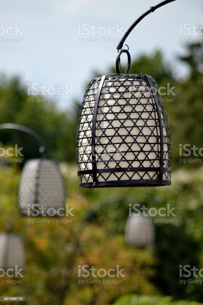 Photo libre de droit de Lampe Électrique Dans Le Jardin ...