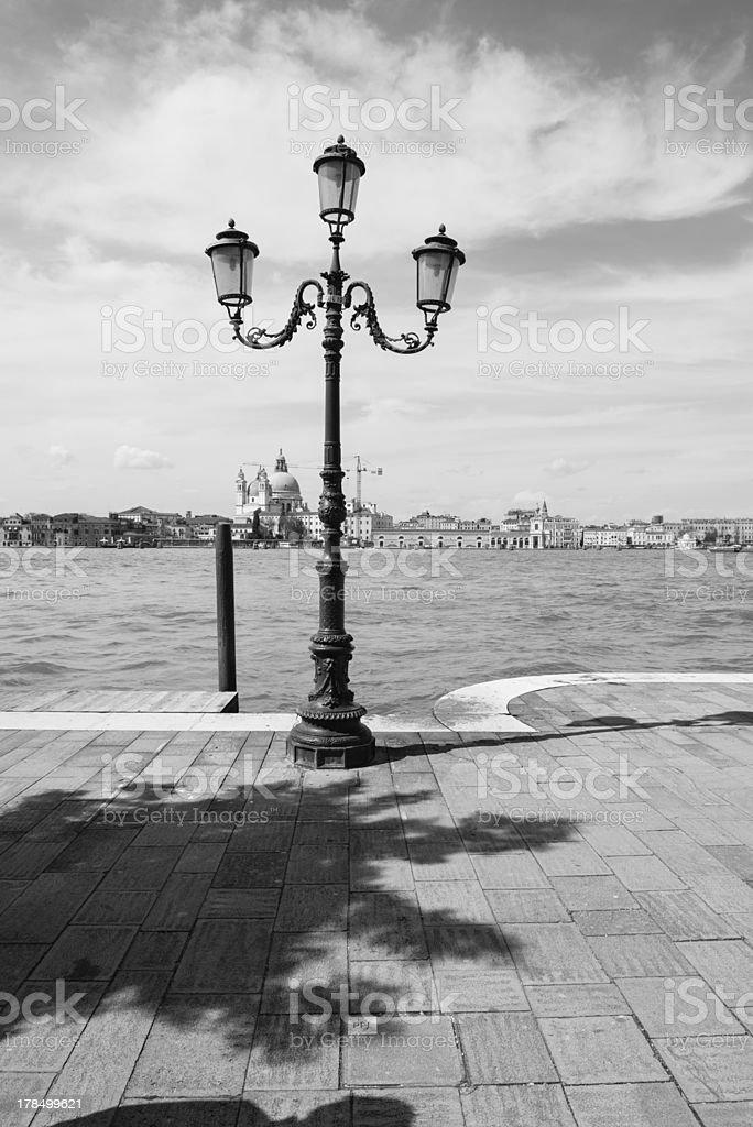 Lamp in Venice royalty-free stock photo