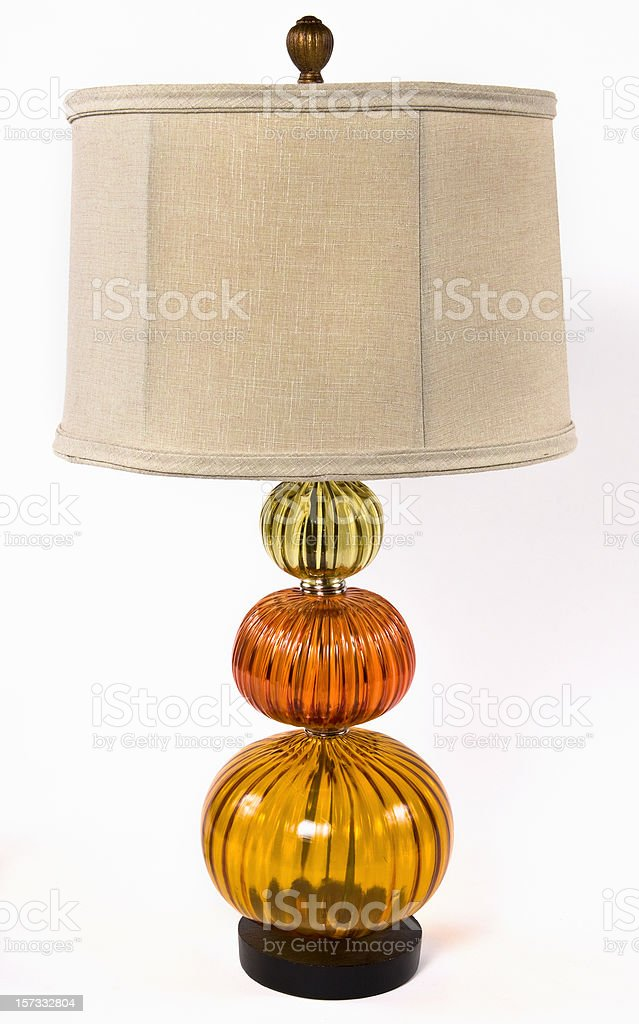 Lamp inspired in the seventies royalty-free stock photo
