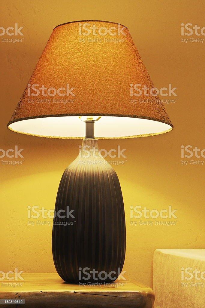 Lamp Lampshade Home Decor royalty-free stock photo