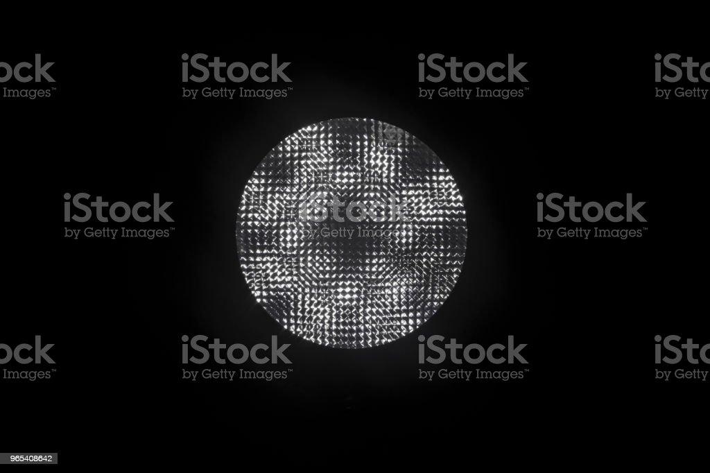 lamp on a black background zbiór zdjęć royalty-free