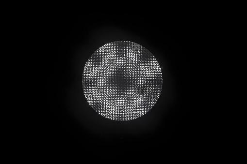 검은 배경에 램프 0명에 대한 스톡 사진 및 기타 이미지