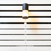 istock Lamp on White Lath Wall 502790089