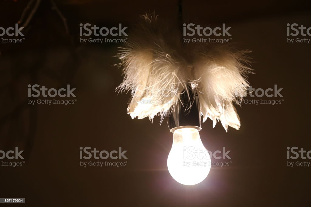 ангел lamp stock photo