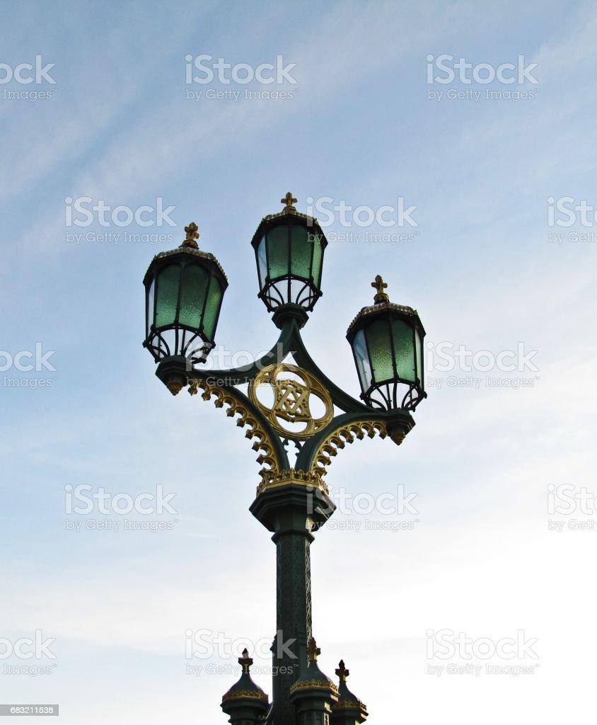 Lamp Post London 免版稅 stock photo
